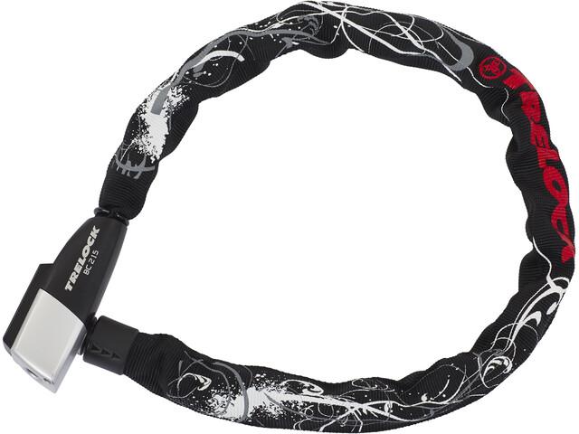 Trelock BC 215 Chain Lock 75cm flowers/black